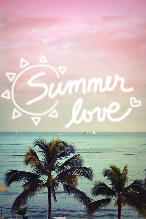 Summer Love Palm Tree photo