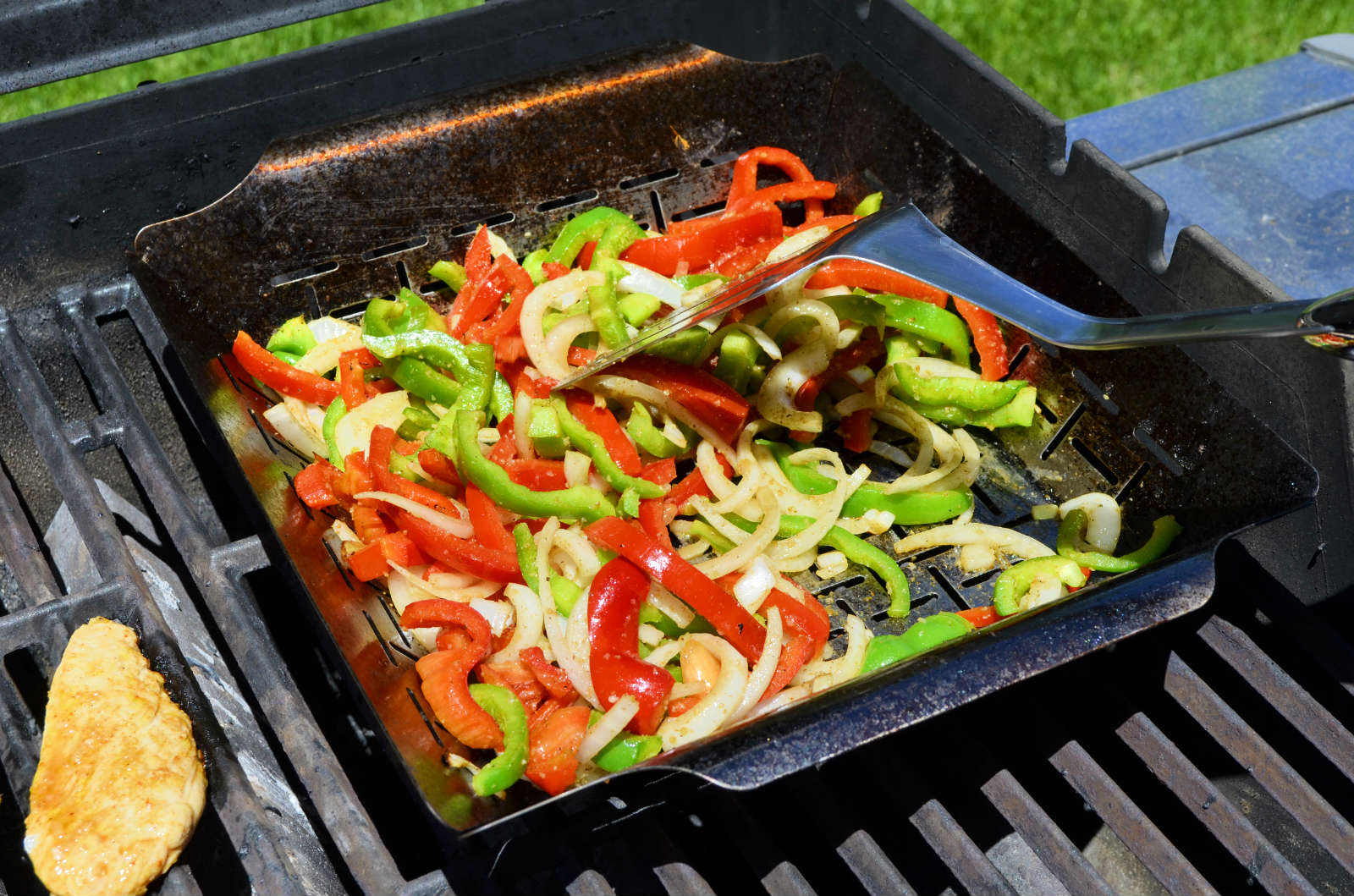 Veggies on the grill