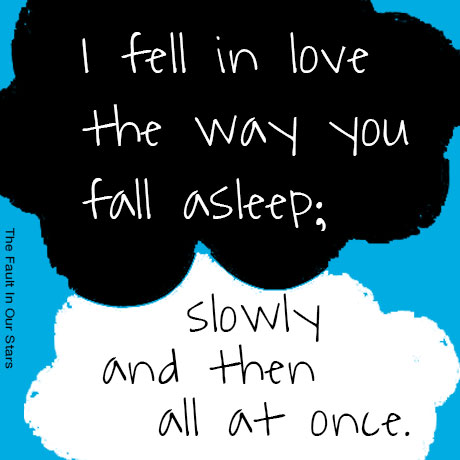 tfios the way you sleep quote