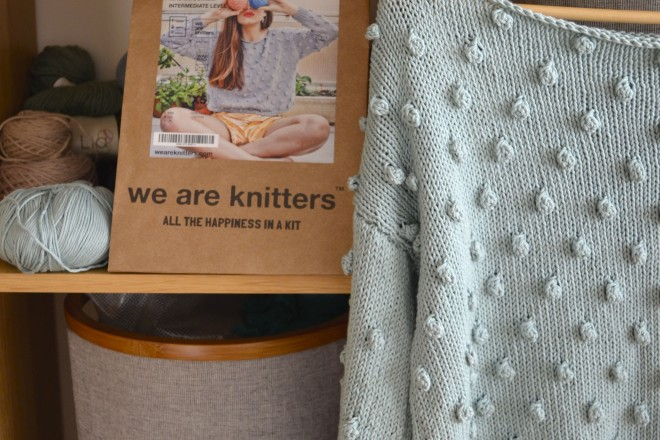 diy: we are knitters kit review at www.laughlovekiss.com